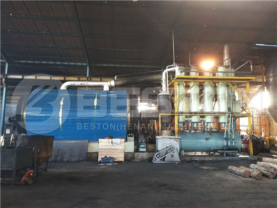 Tire Recycling Equipment in Indonesia
