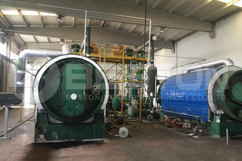 Tire Pyrolysis Plant Cost
